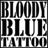 BLOODY BLUE TATTOO